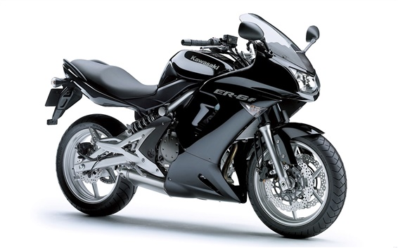 Wallpaper Kawasaki ER-6f motorcycle