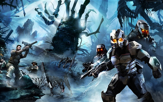 Wallpaper Killzone soldiers