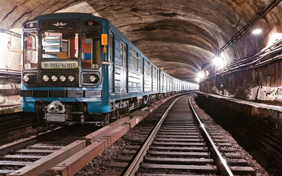 Wallpaper Metro train