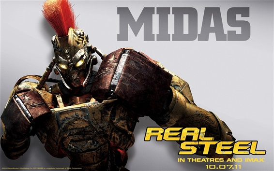 Wallpaper Midas in Real Steel