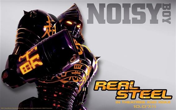 Fondos de pantalla Niño ruidoso en Real Steel