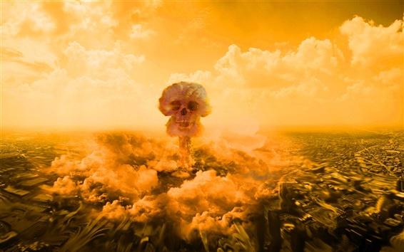 Обои Ядерный гриб взрыва