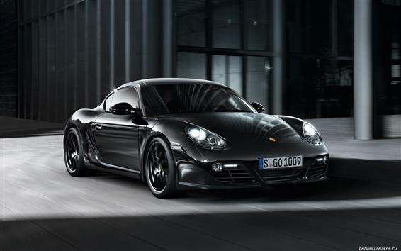 Fond d'écran Porsche Cayman S Black Edition 2011