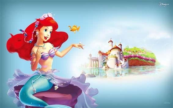 Wallpaper Princess Little Mermaid Manor