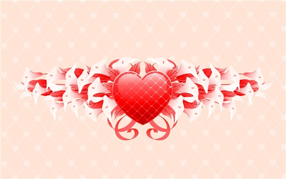 Wallpaper Saint Valentine's Day flowers gifts
