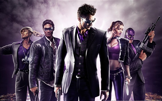Обои Saints Row: Третий HD