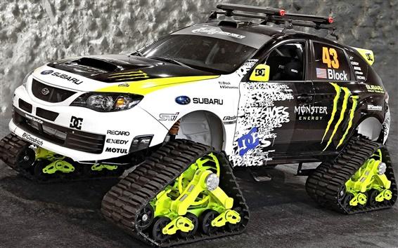 Wallpaper Subaru car