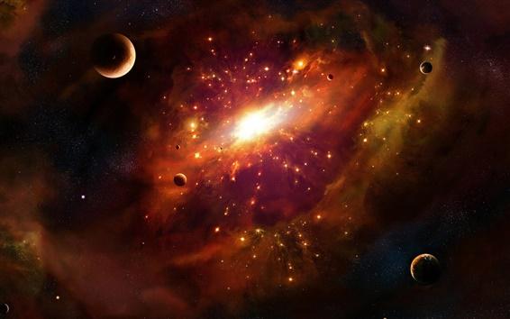 Wallpaper Supernova explosion