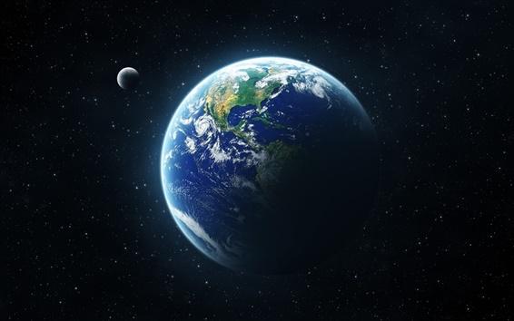 Обои Земли