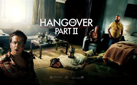 Wallpaper The Hangover Part II HD