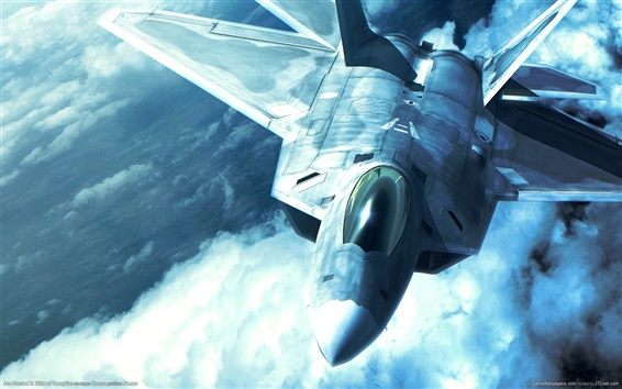 Wallpaper True combat plane