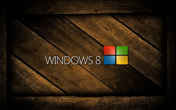 Обои Windows 8 Деревянные