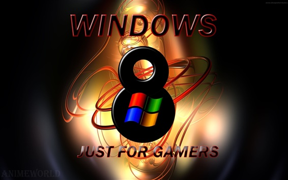 Wallpaper Windows 8 just for gamers
