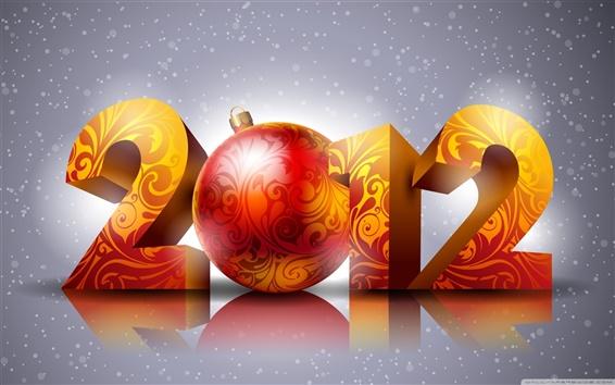 Fond d'écran 2012 Nouvel An