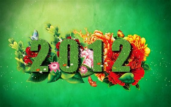Wallpaper 2012 Spring Green