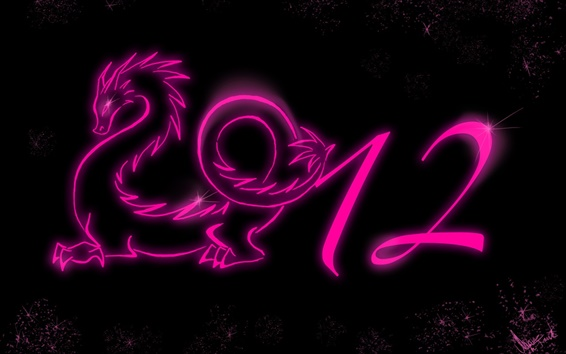 Обои 2012 год дракона