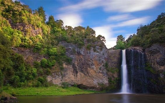 Fondos de pantalla Corrientes hermosa cascada