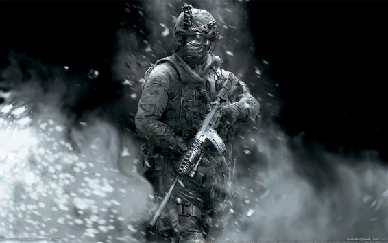 Wallpaper Call of Duty: Modern Warfare 2 HD