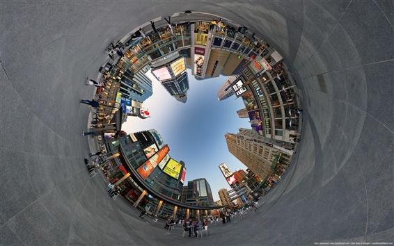 Fond d'écran Ville cercle de photographie