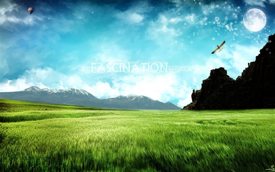 Wallpaper Fascination dream world