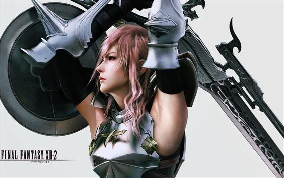 Wallpaper Final Fantasy XIII-2 HD