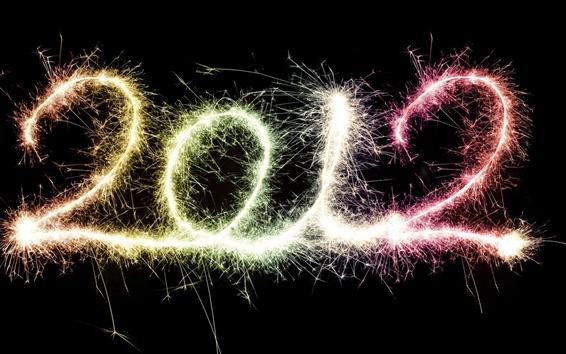 Fond d'écran Happy New Year 2012