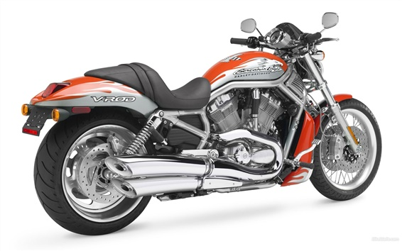 Wallpaper Harley-Davidson V-ROD motorcycle