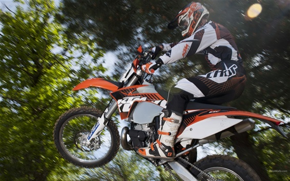배경 화면 KTM 250 실 2,012 오토바이