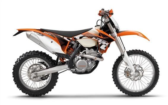 Fond d'écran KTM 350 EXC-F 2012 de moto