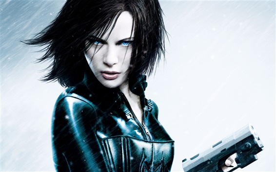Wallpaper Kate Beckinsale in Underworld 4