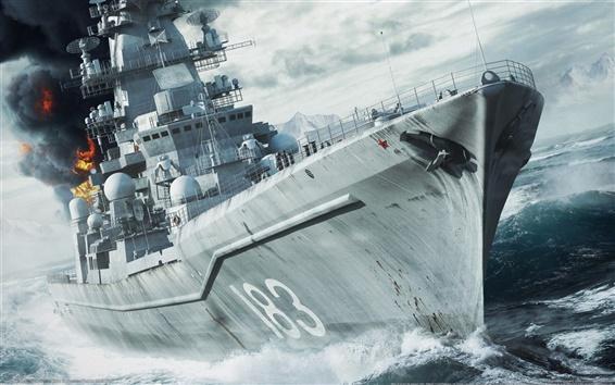 Fondos de pantalla Naval War: Círculo Polar Ártico