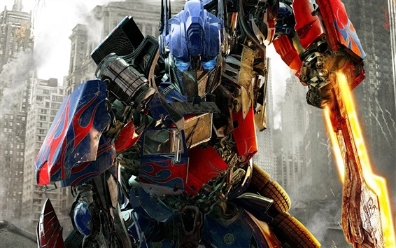 Fond d'écran Optimus Prime dans Transformers: Dark of The Moon