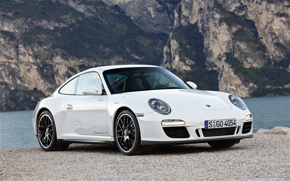 배경 화면 포르쉐 911 Carrera GTS 2010