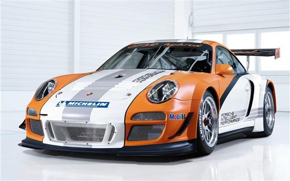 Wallpaper Porsche GT3R Hybrid