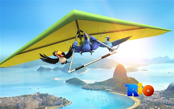 Wallpaper Rio movie 2011