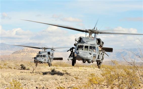 Обои Ш.-60 полет на вертолете