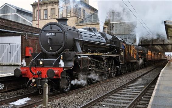 Fond d'écran Train à vapeur