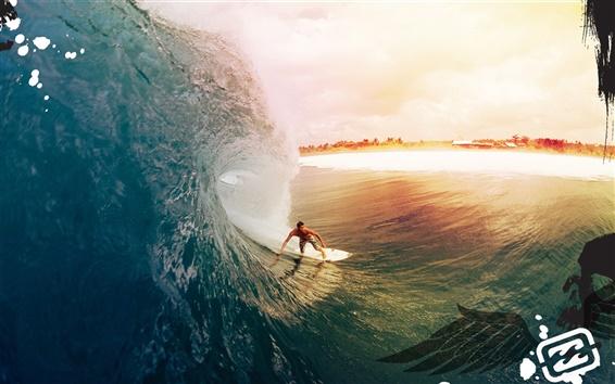 Wallpaper Surfing creative design