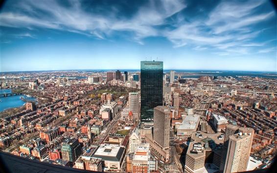Fondos de pantalla La ciudad de los rascacielos fotografía