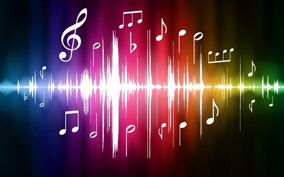 Обои 法拉利 Векторный спектр музыки