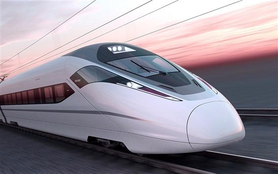 Wallpaper ZEFIRO 380 train