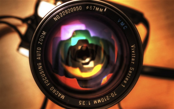 Wallpaper Zoom camera lens