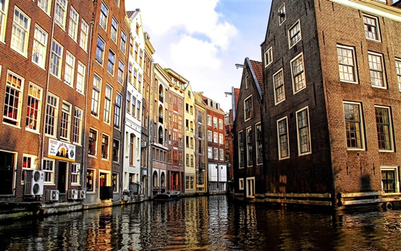 Wallpaper Amsterdam Canal in Venice