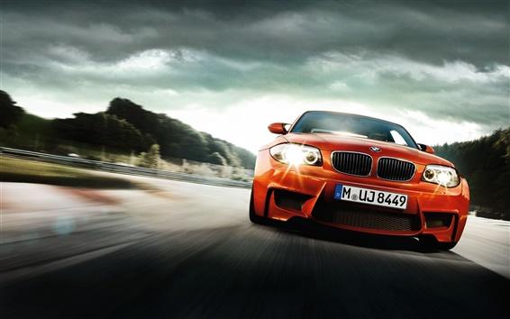 Wallpaper BMW red Cool Car