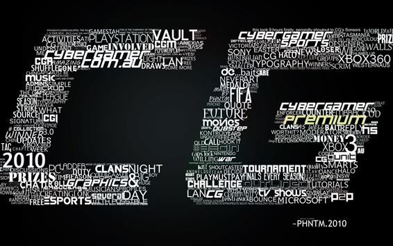 Fond d'écran CG écriture créative