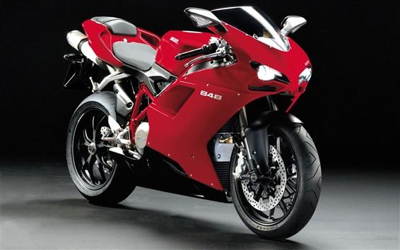 Fondos de pantalla Ducati 848 motocicletas