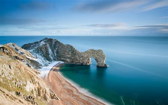 Fond d'écran Durdle Door Dans le Dorset en Angleterre