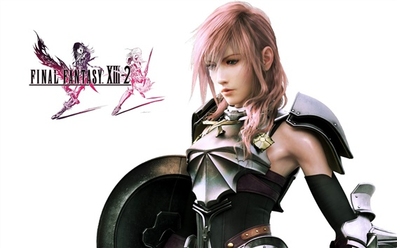 Wallpaper Girl in Final Fantasy XIII-2