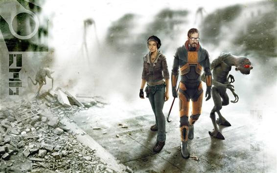 Fond d'écran Half Life 2