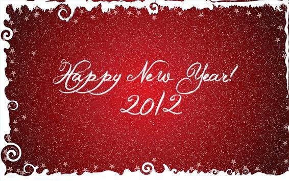 Wallpaper Happy 2012